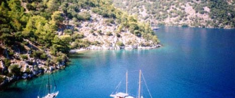 Bodrum - Rhodes - Bodrum Charter Gullet Tours