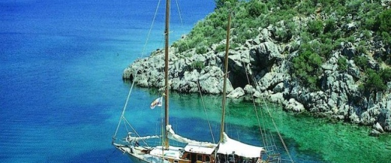 Fethiye - Marmaris - Fethiye Charter Gullet Tours All Inclusive