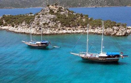 Marmaris - Fethiye Charter Gullet Tours