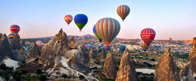Cappadocia-Ephesus-Pamukkale in Spanish