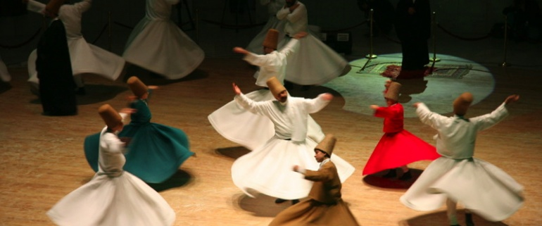 Whirling Dervishes Ceremony