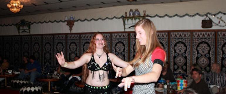 Noite Turca e Dança do Ventre