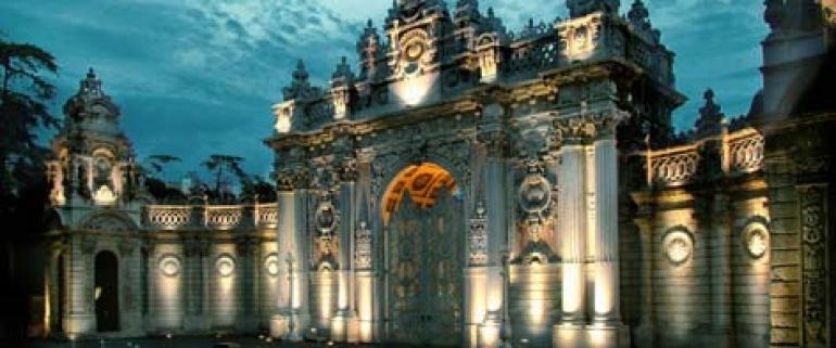 Palácio Dolmabahçe e Dois Continentes