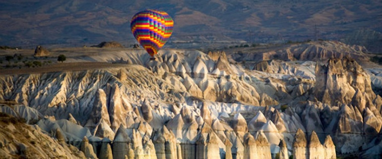Turkey Highlights - 10 days (by bus--Istanbul-Cappadocia-Pamukkale-Ephesus)