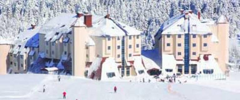 Uma noite e dois dias de ski em Uludag