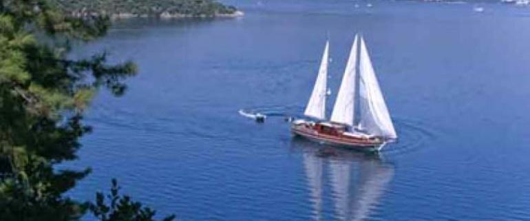 Cruzeiro de Gulet Charter Fethiye-Olimpos