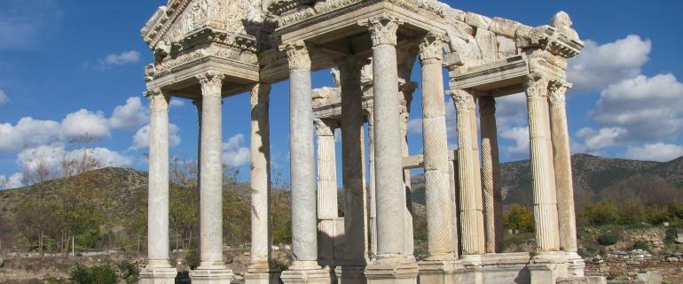 4 nights & 5 days Driver Guide Tour (Cappadocia-Konya-Pamukkale -Aphrodisias- Ephesus)