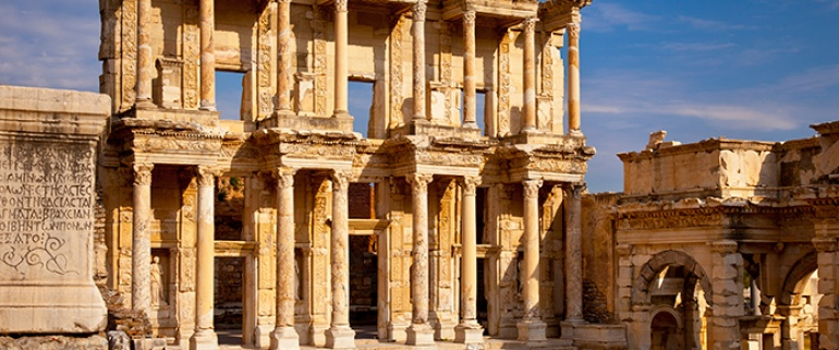 3 nights & 4 days Driver Guide Tour (Aegean Region)(Gallipoli-Troy-Ephesus-Pamukkale)