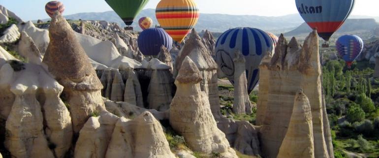 Anatolian Jewels Tour - 5 days (Cappadocia-Ephesus-Pamukkale)