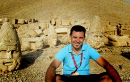 Emre Ozkara  English speaking tour guide Ephesus, Izmir