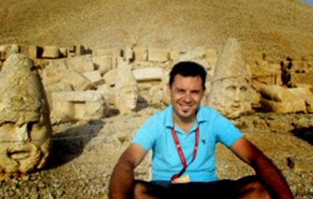 Emre Ozkara  English speaking tour guide Ephesus, Izmir