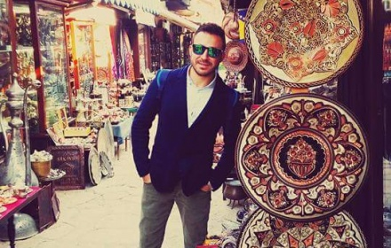 Ahmet Saglam  English and Italian Speaking Tour Guide